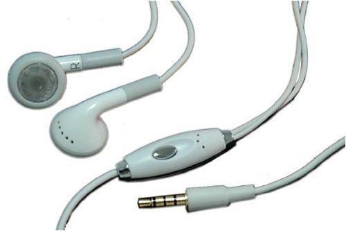 STEREO EAR HEADSET/HEADPHONE W/MIC FOR APPLE IPHONE NEW