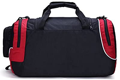 MIER 30L Sports Bag Mens Gym Bag Weekend Travel Bag Holdall for Sports, Overnight, Team Training, Carry On