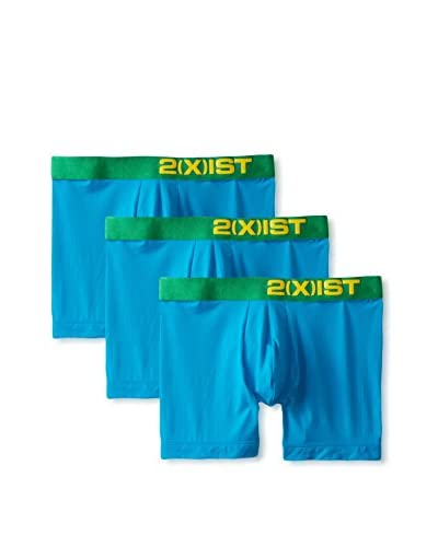 2(X)IST Men's Electric Boxer Brief, Pack of 3