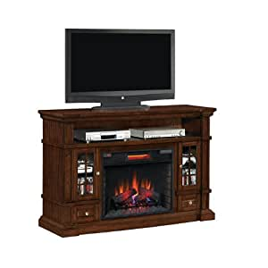 Twin Star Belmont Electric Fireplace And Mantel Home Kitchen