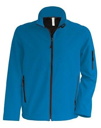 Softshell Jacke, Größe:S;Farbe:Aqua Blue