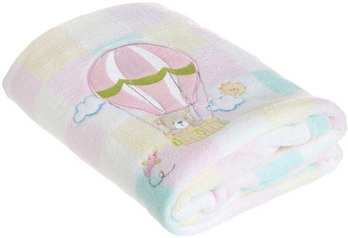 My Baby Baloon Design Plush Blanket