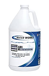 Water Works 121 KLEEN ROOM Concentrate Surfactant Based Floor Cleaner/Degreaser, 1 Gallon