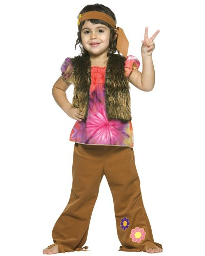 Toddler Little Hippie Girl Costume