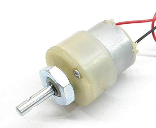 Verve 300 rpm 12v dc geared motor available at amazon for for 100 rpm dc motor
