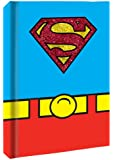 Silver Buffalo SP0150 DC Comics Superman Uniform Hard Cover Journal with Ribbon Book Mark, 160-Pages, 6 in. x 8 in