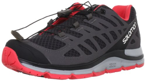 Salomon Women's Synapse Shoe,Asphalt/Autobahn/Papaya,9 M US