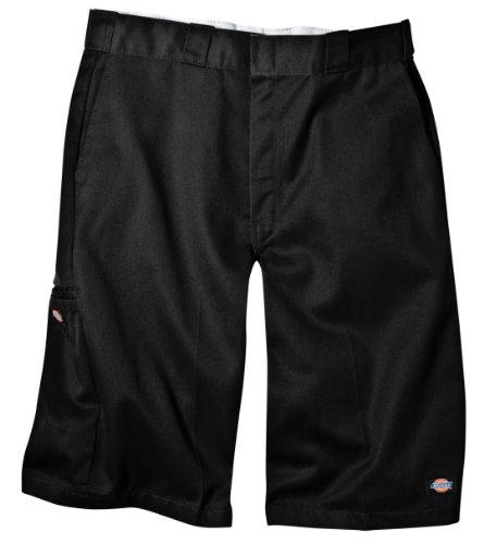 dickies-mens-13-inch-loose-fit-multi-pocket-work-short-black-38