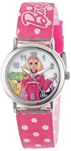 MATTEL Kids' BAR003B Barbie gift backpack set Watch