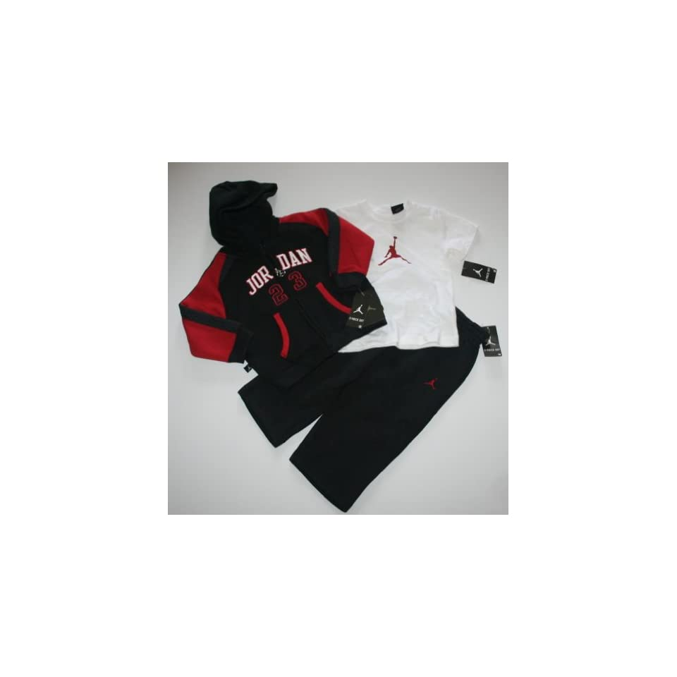 a29409c8bce9e6 Nike Jordan Jumpman23 Baby Infant 3 Piece Sweatsuit Set on PopScreen