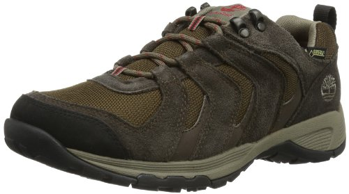 Timberland Mens FLEETTRAIL LOW GTX D DARK BROWN Trekking & Hiking Shoes Brown Dark Brown Size: 43.5