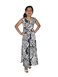 Titrit Tiger Print Cape Dress Without Legging