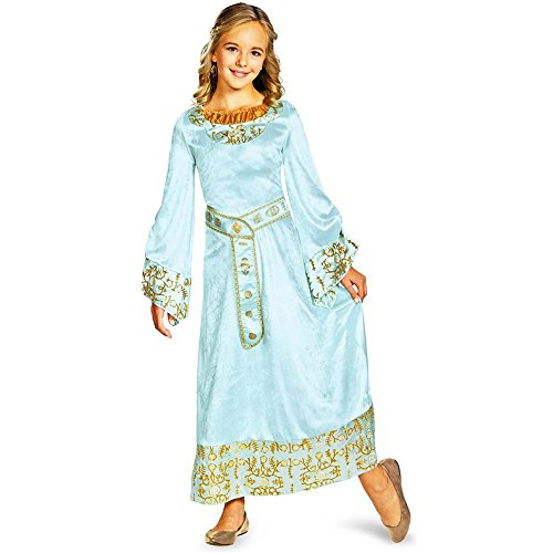Maleficent: Aurora Blue Dress Deluxe Kids Costume
