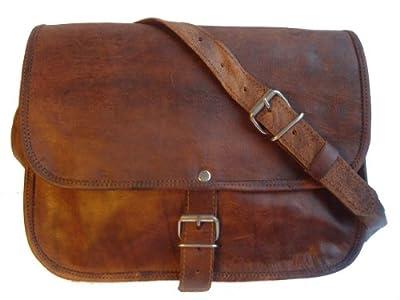 """'Gusti Leder nature' Andy 9.7""""iPad Air Stylish Leather Handbag Bag Tabletasche 10.1Retro Vintage Evening Bag Shoulder Bag Small Men Ladies 'Goatskin Brown H1"""