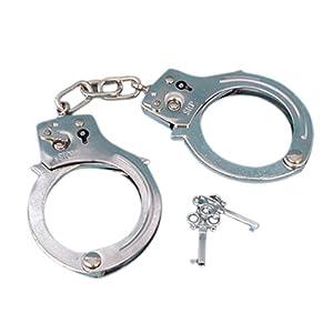 Smiffy's - Metall-Handschellen mit Schlüssel