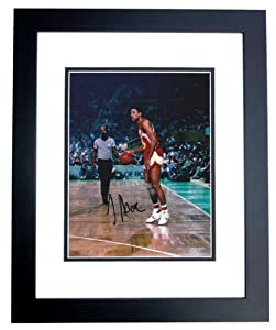 Doc Rivers Autographed Hand Signed Atlanta Hawks 8x10 Photo - BLACK CUSTOM FRAME by Real Deal Memorabilia