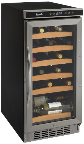 For Sale! Avanti WC1500DSS 30-Bottle Wine Chiller with Electronic Display