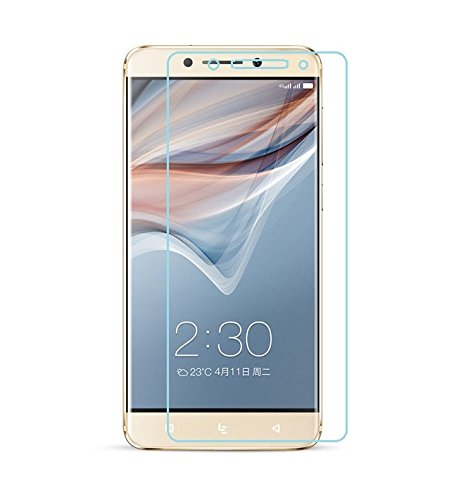 LeEco Le Pro3 AI Edition, Tempered Glass , Azzil Premium Real Tempered 2.5D 9H Anti-Fingerprints & Oil Stains Coating Hardness Screen Protector Guard For LeEco Le Pro 3 AI Edition