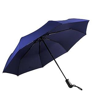 Mysuntown Customization Travel Umbrella Auto Open Close Fiberglass Reinforced 8-Rib With A Beautiful Box