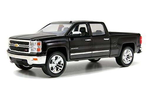 Chevy Silverado Pickup Truck, Black - Jada Toys Just Trucks 97018 - 1/24 scale Diecast Model Toy Car (Chevy Toy Trucks compare prices)