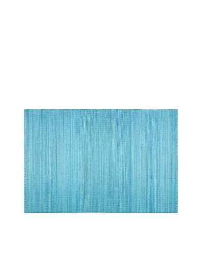 KAF Home Set of 4 Bamboo Placemats, Sky