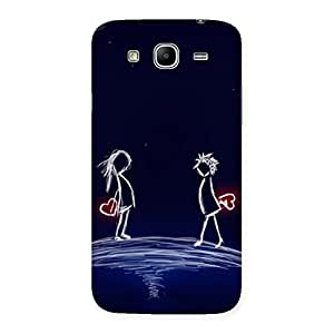 Heaven Couple Back Case Cover for Galaxy Mega 5.8