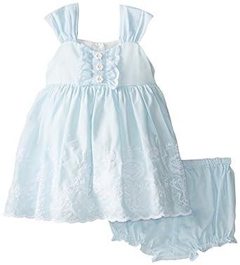Amazon Laura Ashley London Baby Girls Eyelet Trimmed