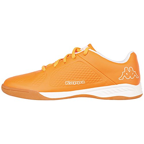 Kappa VYPER T Footwear Teens, Low-Top Sneaker unisex bambino, Arancione (Orange (4410 orange/white)), 38