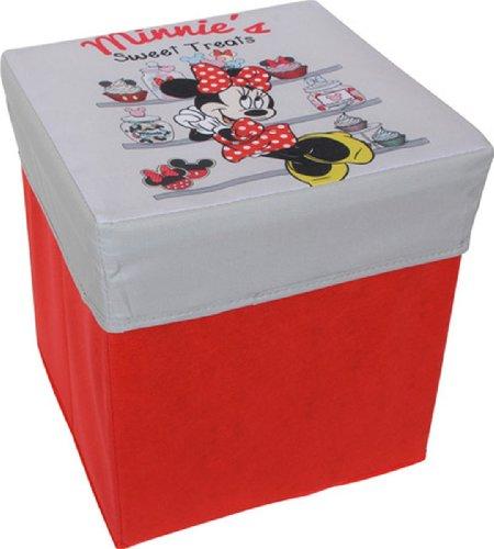 Small Foot Company Minnie Mouse Sgabello, Tessuto, Multicolore