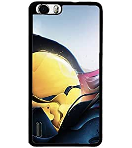 ColourCraft Abstract Image Design Back Case Cover for HUAWEI HONOR 6