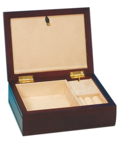 Musicboxworld Wooden Musical Jewellery Box
