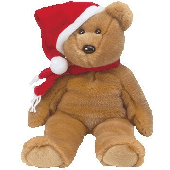 Ty Beanie Buddies 1997 Holiday Teddy - Bear