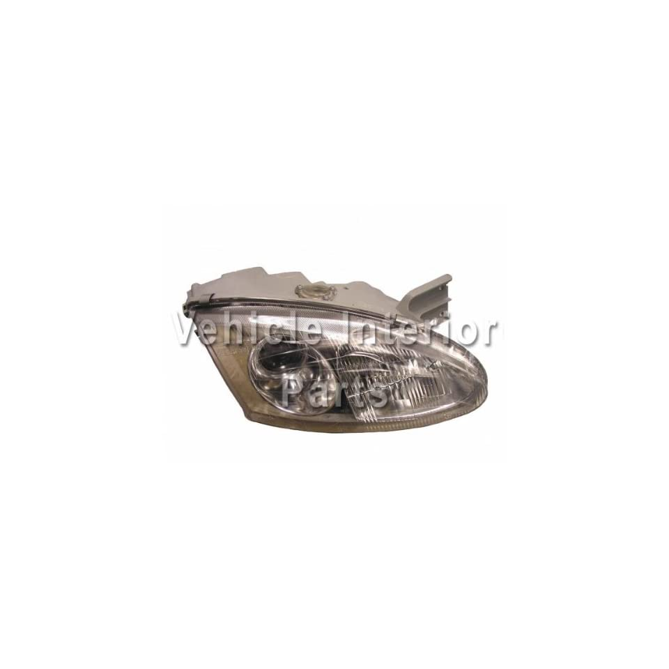 Genuine Hyundai Parts 92101 27050 Driver Side Headlight Assembly Composite