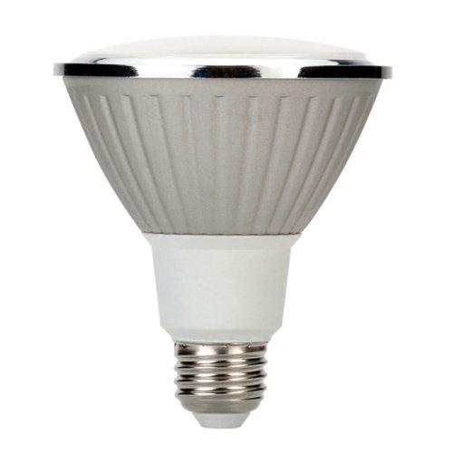 Globe Electric 01439 11-Watt Par 30 Dimmable Soft White, Led For Life Medium Base Light Bulb, 35-Watt Equivalent