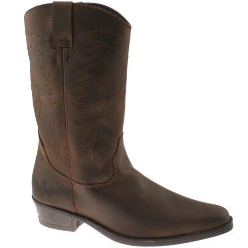 Wrangler, Stivali da cowboy uomo, Marrone (marrone), UK7/EU41