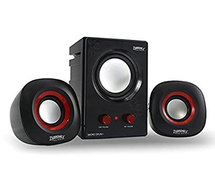 Zebronics Micro Drum Plus Wired 2.1 Channel Desktop Speaker