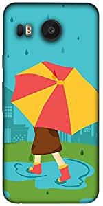 Timpax Protective Hard Back Case Cover With Easy access to all ports Printed Design : A rainy day.Precisely Design For : LG Nexus 5X