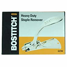 Stanley Bostitch Xtreme Duty Carton Staple Remover, Chrome (G27W)