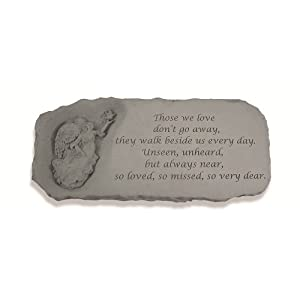 Kay Berry- Inc. 37220 Those We Love - Angel Memorial Bench - 29 Inches x 12 Inches x 15 Inches