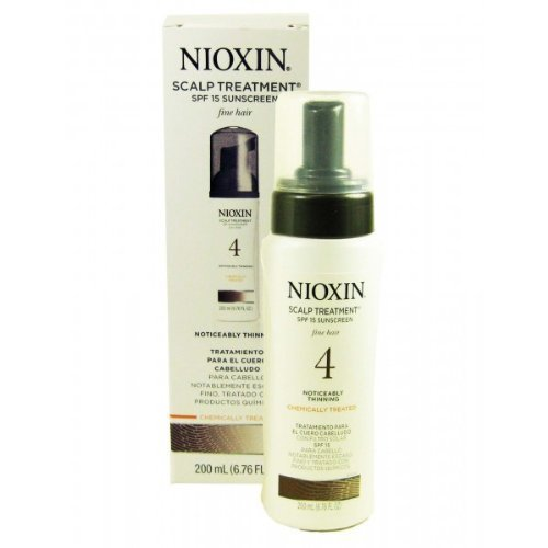 Nioxin System 4 Scalp Treatment For Fine Hair, 200 Ml / 6.76 Oz (Pack Of 2)