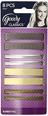 Goody Classics Metal Hair Barrettes