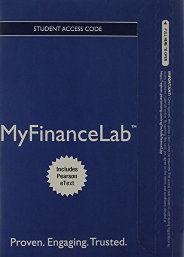 NEW MyFinanceLabTM with Pearson eText -- Instant Access -- for Principles of Managerial Finance, Brief (Myfinancelab compare prices)