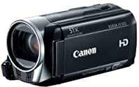 Canon VIXIA HF R30 Full HD 51x Image Stabilized Optical Zoom Camcorder Wi-Fi Enabled with 8GB Internal Drive Dual SDXC Card Slots and 3.0 Touch LCD by Canon