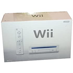 "Nintendo Wii Console, White (NEWEST MODEL) (Video Game) By UnAssigned          Buy new: $389.99 31 used and new from $52.98     Customer Rating:       First tagged ""nintendo"" by C. Talley"