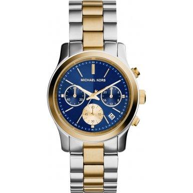 Michael Kors MK6165 38mm Multicolor Steel Bracelet & Case Mineral Women's Watch