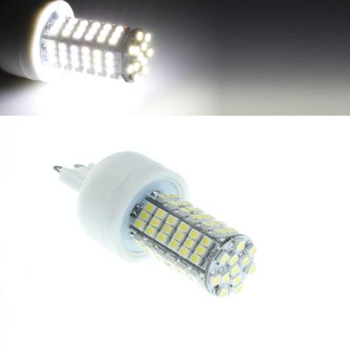 G9 6W 6500K 410-Lumen 102X3528 Smd Led White Light Bulb (Ac 85~265V)