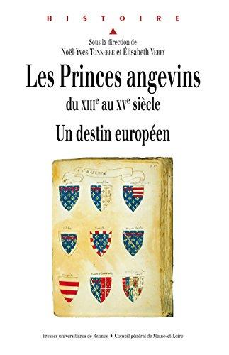 Les princes angevins du XIIIe au XVe siècle: Un destin européen