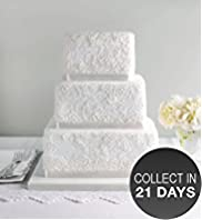 Lace Chocolate Wedding Cake