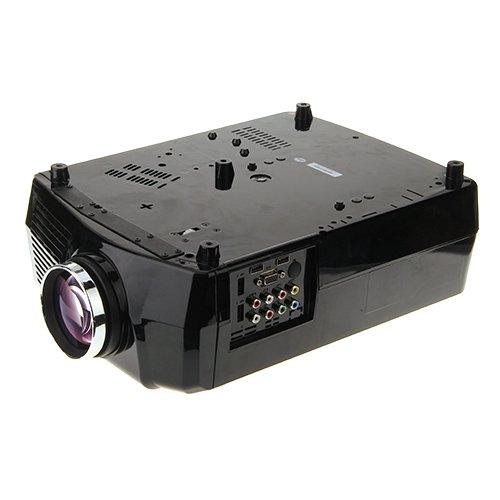 Hd 3d tv reviews lightinthebox 1024 600 2200 lumens lcd for Hdmi mini projector reviews