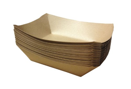 Brown Paper Food Trays | 50ct (Food Trays compare prices)